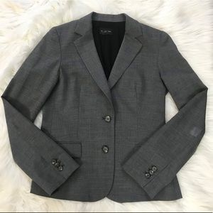 Club Monaco 98% Wool Gray Blazer Size 6
